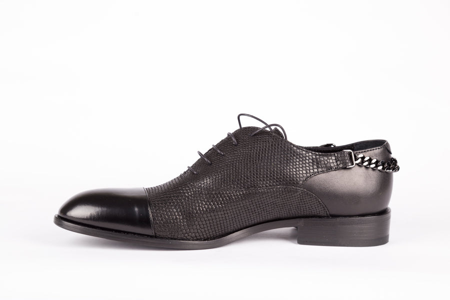 John Richmond-W-Streat Brush Nero Shoes