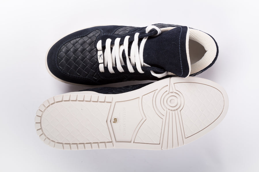 Bottega Veneta-Dark Navy Sneakers