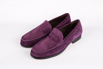 Dsquared-Velour Comes Viola Tacco Heel Loafer