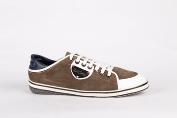 Moschino-Brown/Bianco Sneakers