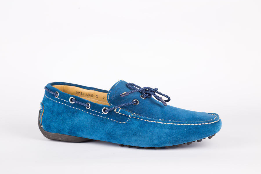 Santoni-Club Shin Sky Loafer