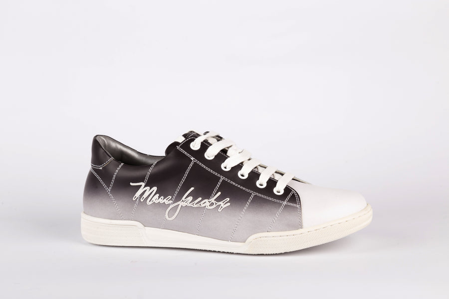 Marc Jacobs-Stamp Degrad Nero Sneakers