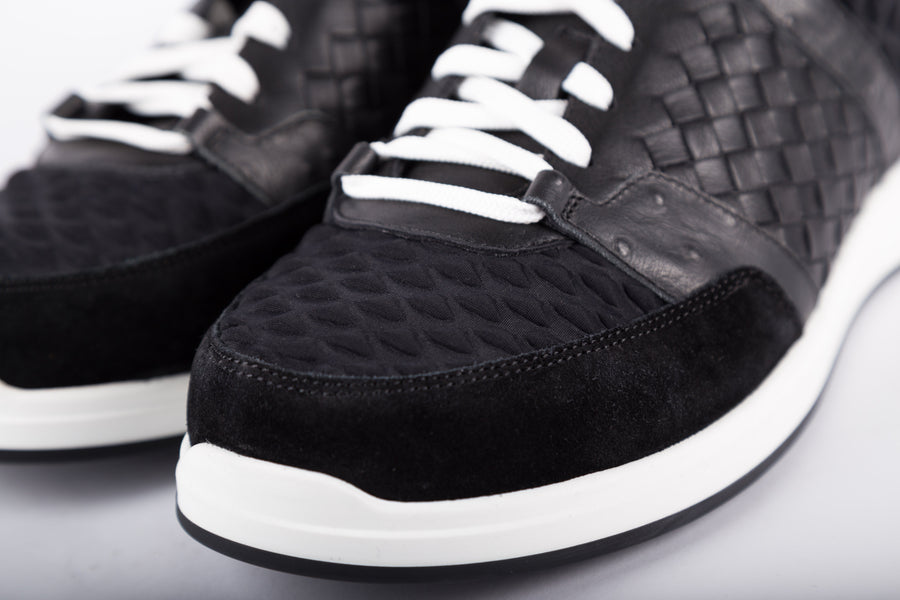 Bottega Veneta-Black Sneakers