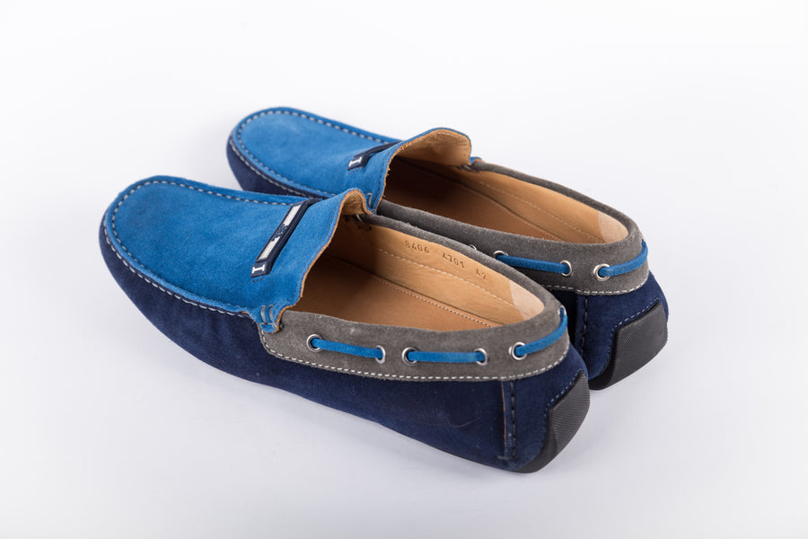 Iceberg-Blu Softy Loafer