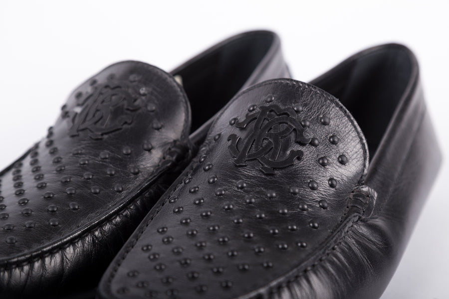 Roberto Cavalli-Calf Nero Loafer
