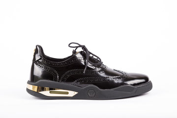 Philipp Plein-Best Black Gold Sneakers
