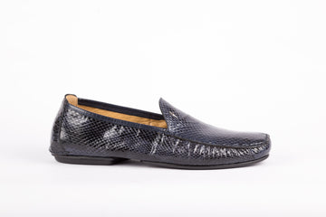 Cesare Paciotti-Ayer Lux Navy Loafer