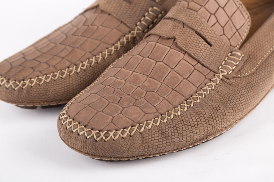 Moreschi-Marr Brown Scuro Tucson Loafer
