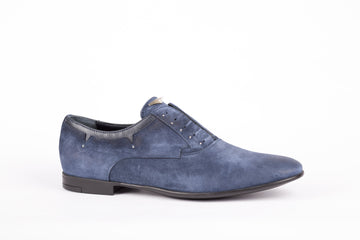 John Richmond-Richmond Velour Blu Shoes