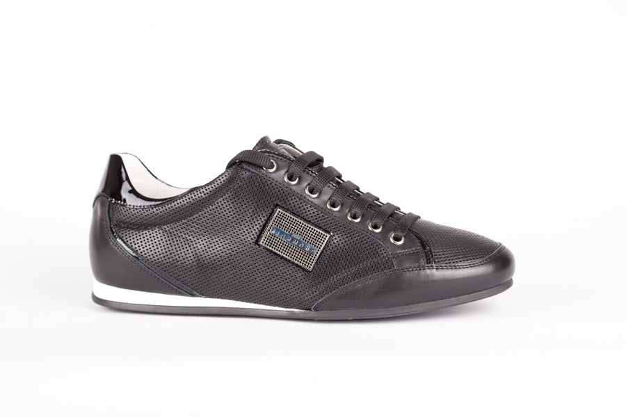 John Richmond-Variante Sport Calf Nero Sneakers