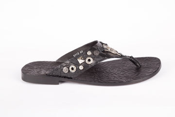 John Richmond-Cayman Nero Slipper