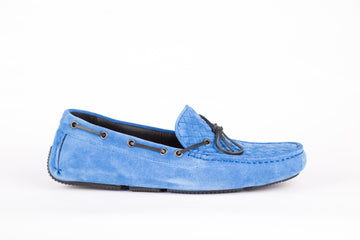 Bottega Veneta-Blue Loafer