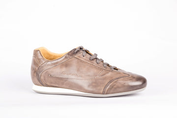 Santoni-Rustico Light Grey Sneakers