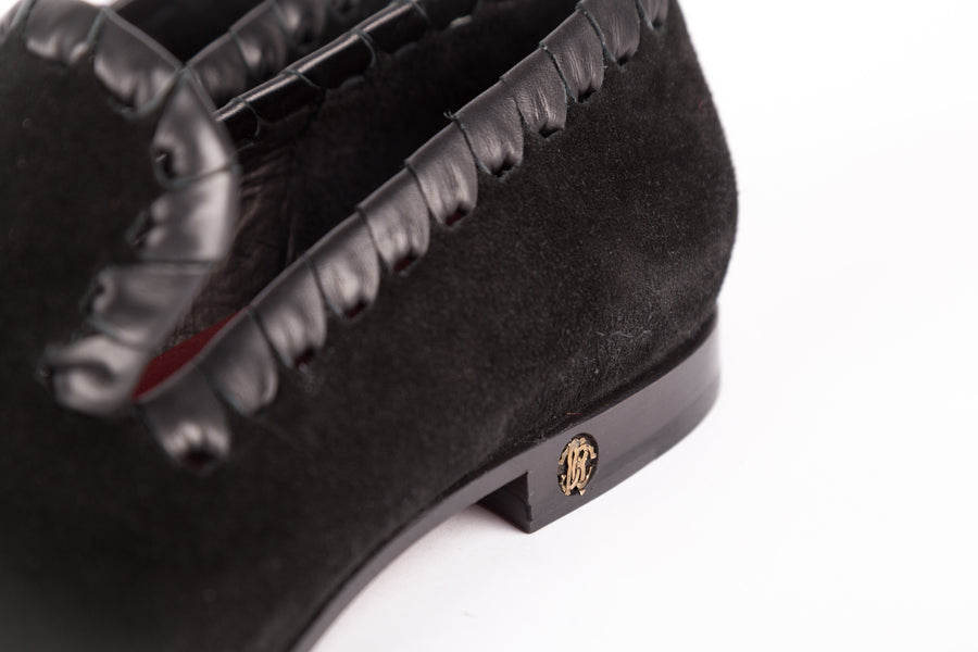 Roberto Cavalli-Sole Suede Loafer