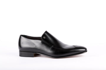 Moreschi-Vitello Nero Shoes
