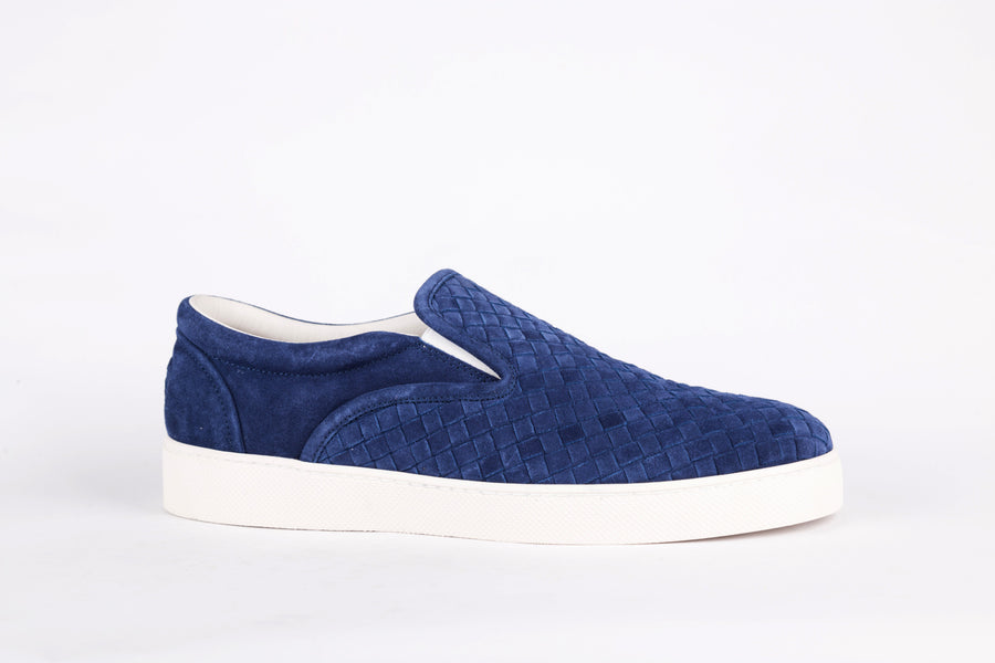 Bottega Veneta-Blue Sneakers