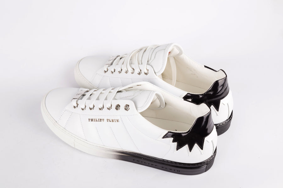 Philipp Plein-Deny It Limited Edition White Sneakers