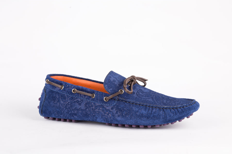 Etro-Crosta Blu Loafer