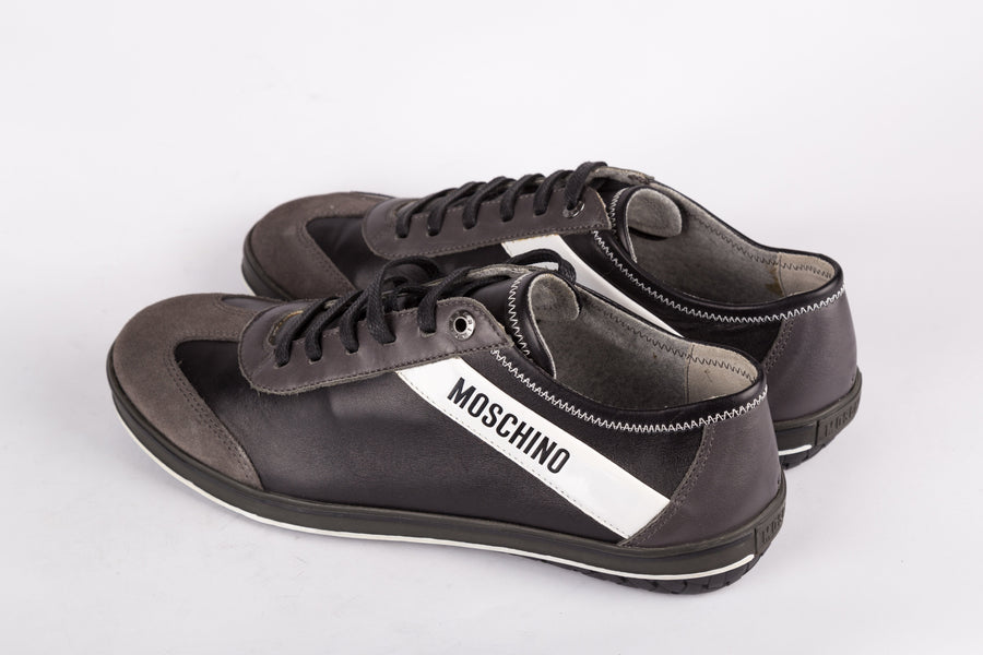 Moschino-Nero Sneakers