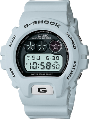 G-Shock Men's Gray Resin Strap Watch DW6900FS-8