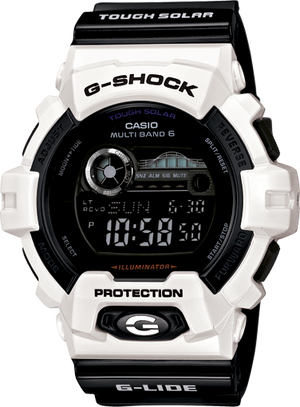 G-Shock Men's Digital Black Resin Strap Watch 53x55mm GWX8900B-7