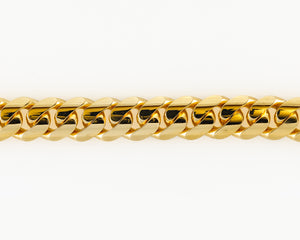 "14k Yellow Gold Miami Cuban Link Bracelet 9"" 15mm"