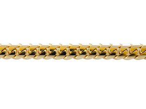 "14k Yellow Gold Miami Cuban Link Chain 25"" 10.8mm"