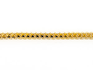 "14k Yellow Gold Miami Cuban Link Chain 26"" 9.8mm"