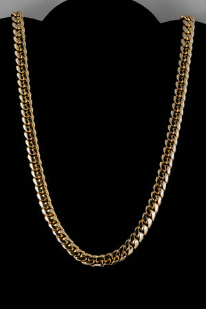 "14k Yellow Gold Miami Cuban Link Chain 26"" 9.3mm"
