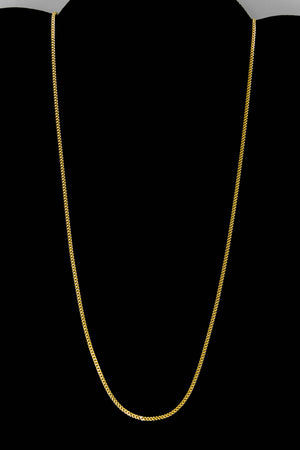 "14k Yellow Gold Miami Cuban Link Chain 18"" 1.8mm"