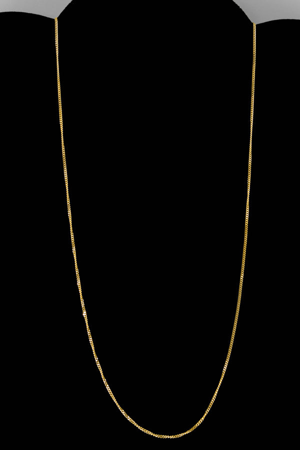 "14k Yellow Gold Miami Cuban Link Chain 20"" 1.2mm"
