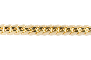 "14k Yellow Gold Miami Cuban Link Chain 28"" 15.5mm"