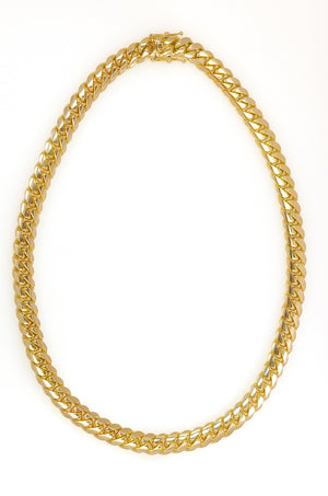 "14k Yellow Gold Miami Cuban Link Chain 26"" 13.4mm"
