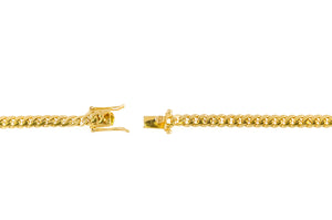 "14k Yellow Gold Miami Cuban Link Chain 24"" 5mm"