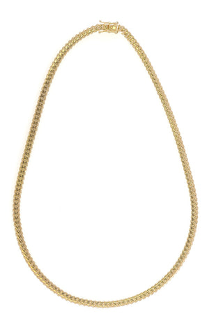 "14k Yellow Gold Miami Cuban Link Chain 25"" 6.5mm"