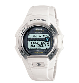 Casio Men's GWM850-7 G-Shock Solar atomic White Watch