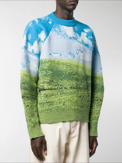 old school windows wallpaper knitter sweater