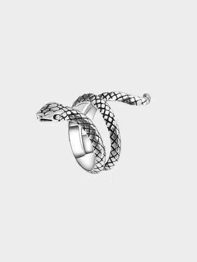 snake around the finger ring