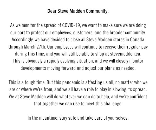 Covid Letter
