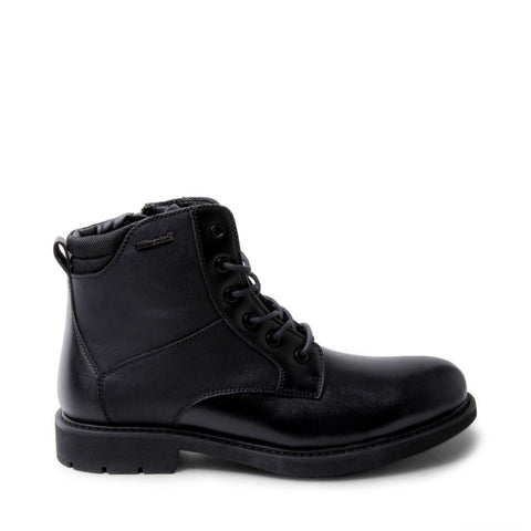 DAVID WATERPROOF BLACK LEATHER