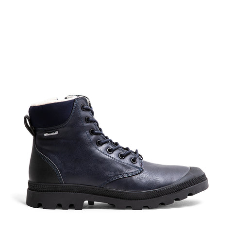 DUNCAN WATERPROOF BLUE LEATHER