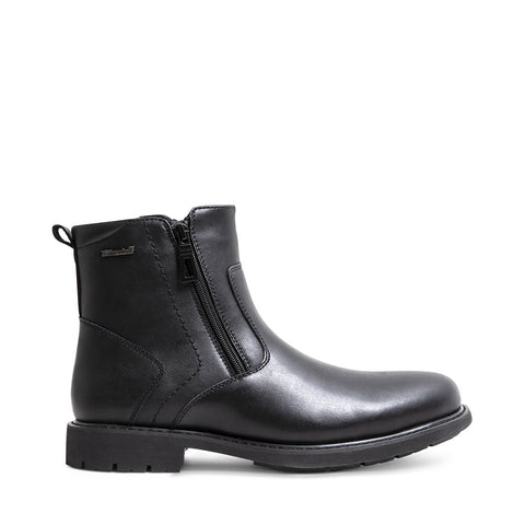 DAMIANO BLACK LEATHER