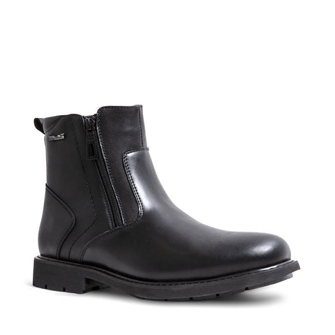 DAMIANO WATERPROOF BLACK LEATHER