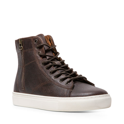SLASH BROWN LEATHER