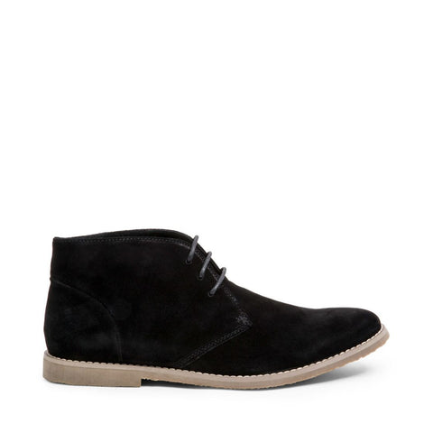 WORTHYY BLACK SUEDE