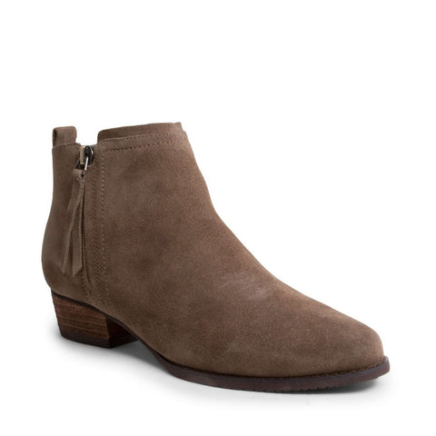 INCHARGES WATERPROOF TAUPE SUEDE