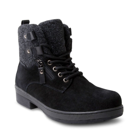 JENNAS WATERPROOF BLACK SUEDE