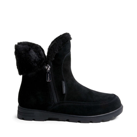 KANGOOS WATERPROOF BLACK SUEDE