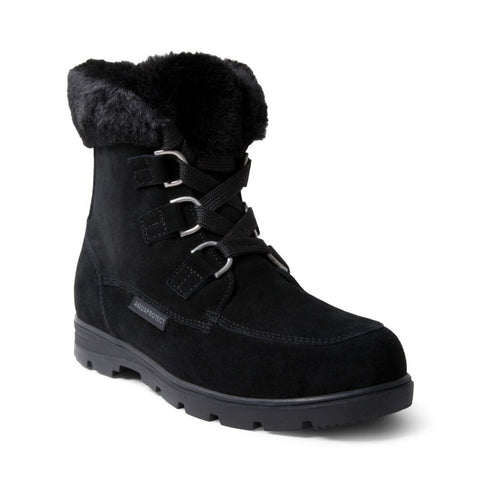 KYLIES WATERPROOF BLACK SUEDE