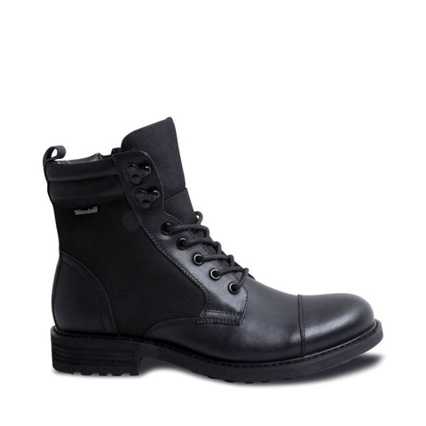 PAXTONN WATERPROOF BLACK LEATHER